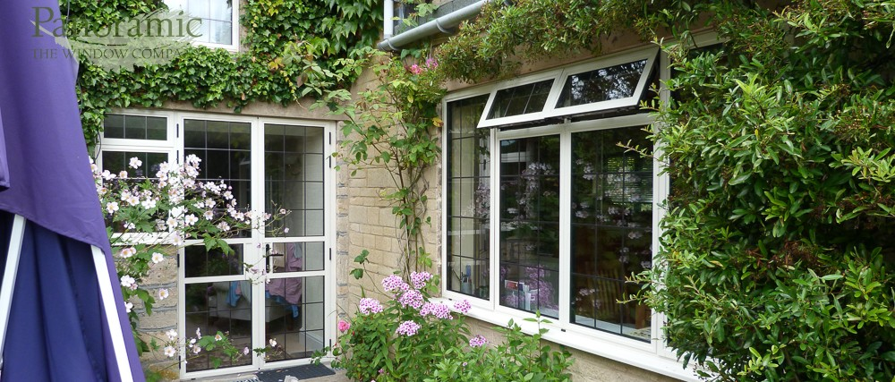 Slimline aluminium for Upvc french doors bristol