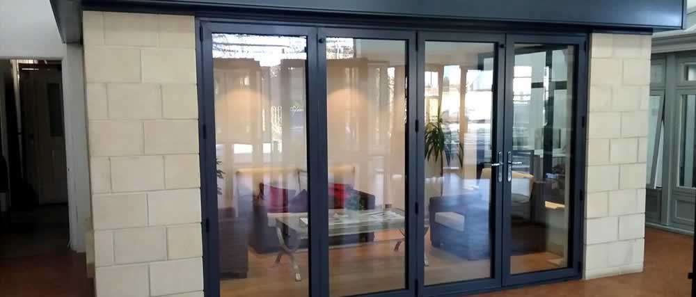 Panoramic windows showroom bristol doors sash windows for Upvc french doors bristol