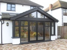 Slimline Aluminium Doors - the real alternative to residential steel doors