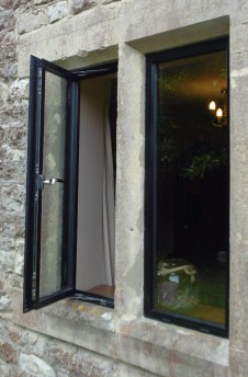 The beauty of Slimline double glazing windows in aluminium