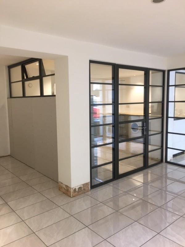 panoramic windows. Black Bedroom Furniture Sets. Home Design Ideas