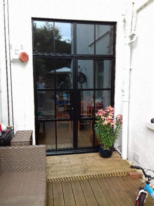 Slimline aluminium doors for Upvc french doors bristol