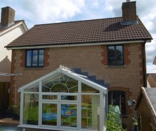 Contemporary Aluminium replacing wooden windows and doors