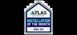 atlas roofs installation logo