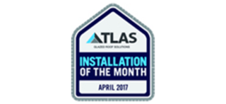 atlas roofs installation logo