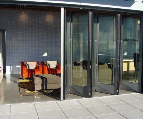 Aluminium Bi-Folding Doors