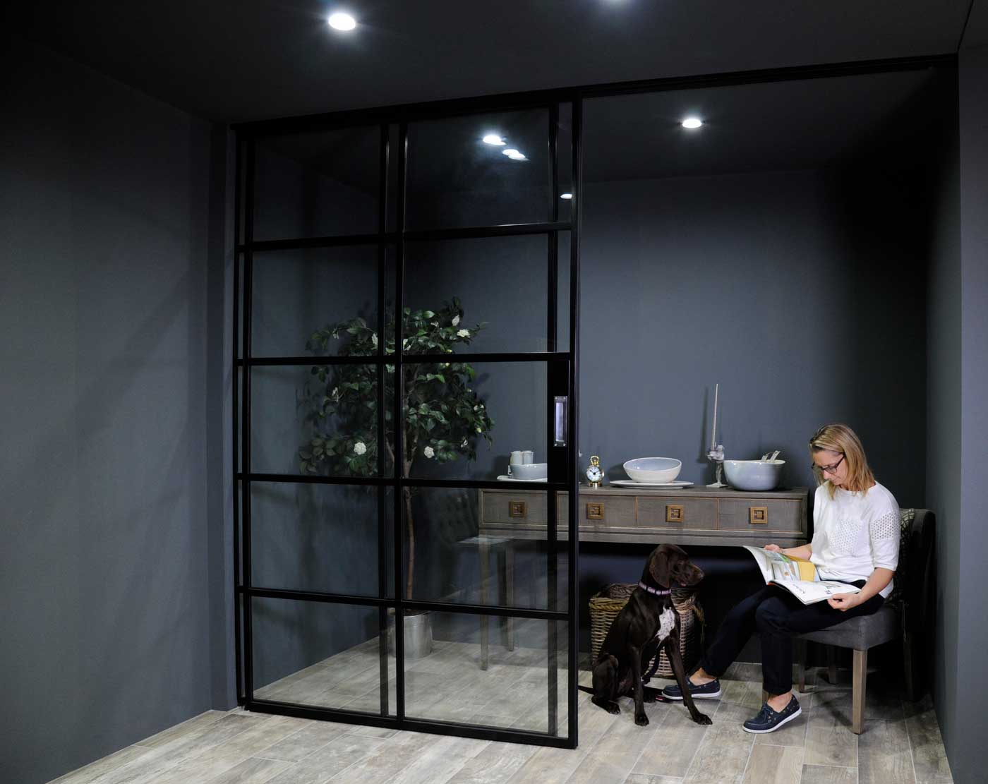 The best way to create light and space in your home or office – the new Crittall InnerVision glazed walls