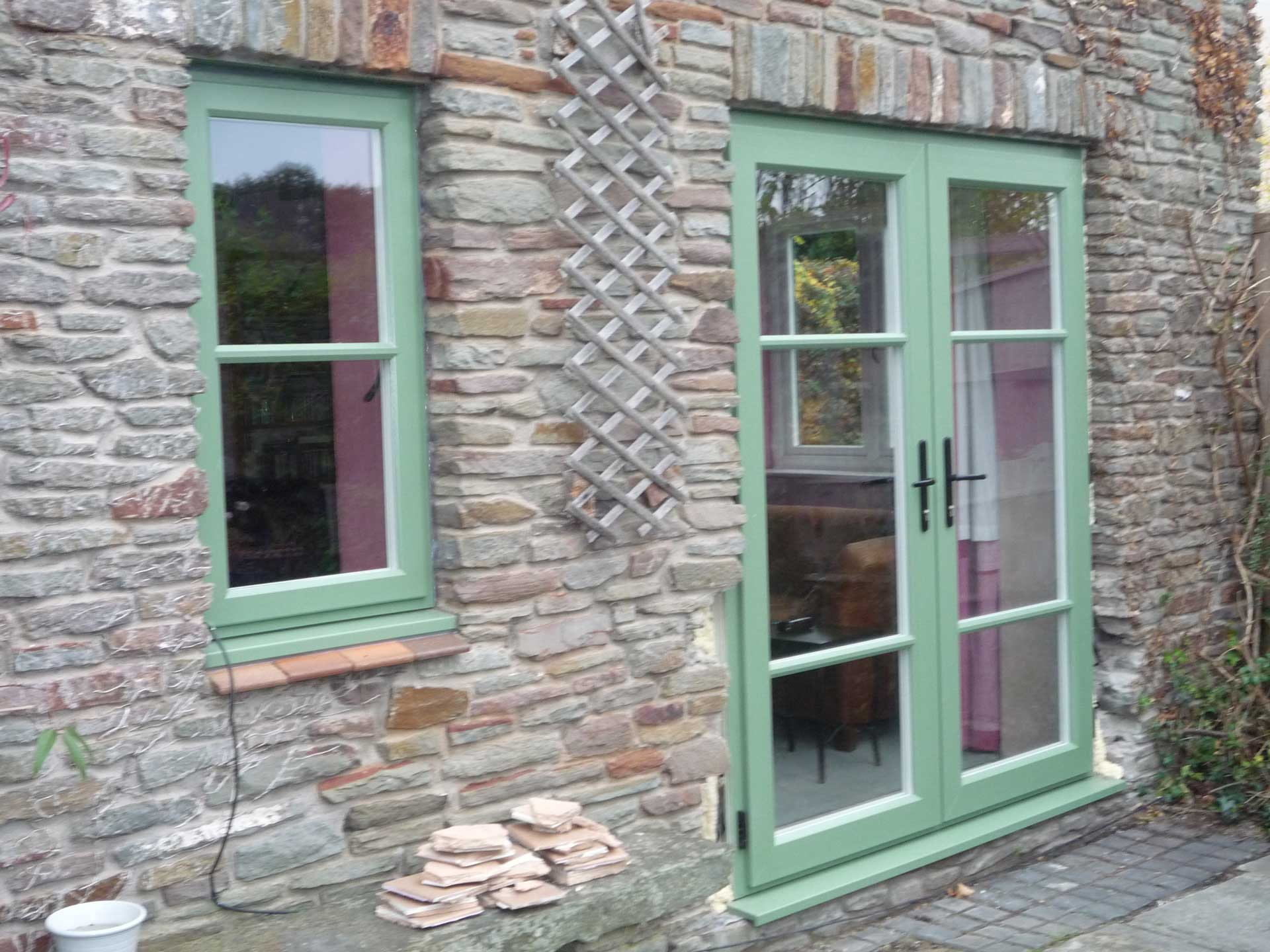 Timber Alternative French Patio Doors