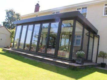 Aluminium Windows in Skyroom Conservatory
