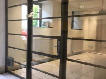 Slimline Aluminium Internal Doors Bradford