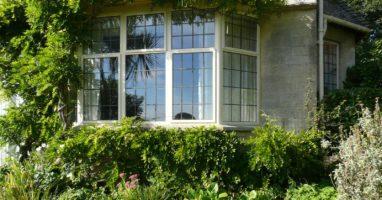White Leaded Steel Windows
