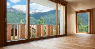 Timber Wooden Sliding Door
