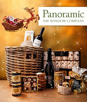 Panoramic Hamper Winter Deals Santa