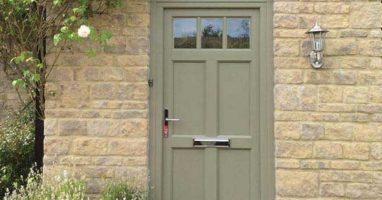 front upvc door